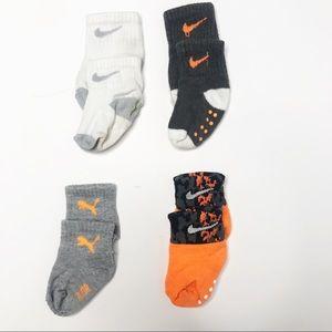 Baby Boy Nike Sock Bundle 3-12 months